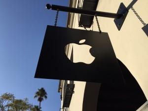 Auch der Store in Santa Barbara hat ein schönes Logo