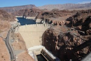 Der Hoover Dam!