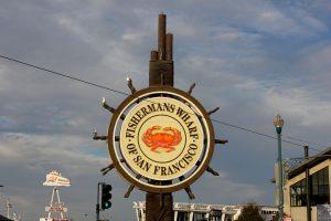 Eines der bekanntesten Ziele in San Francisco. Der Fishermans Warf.