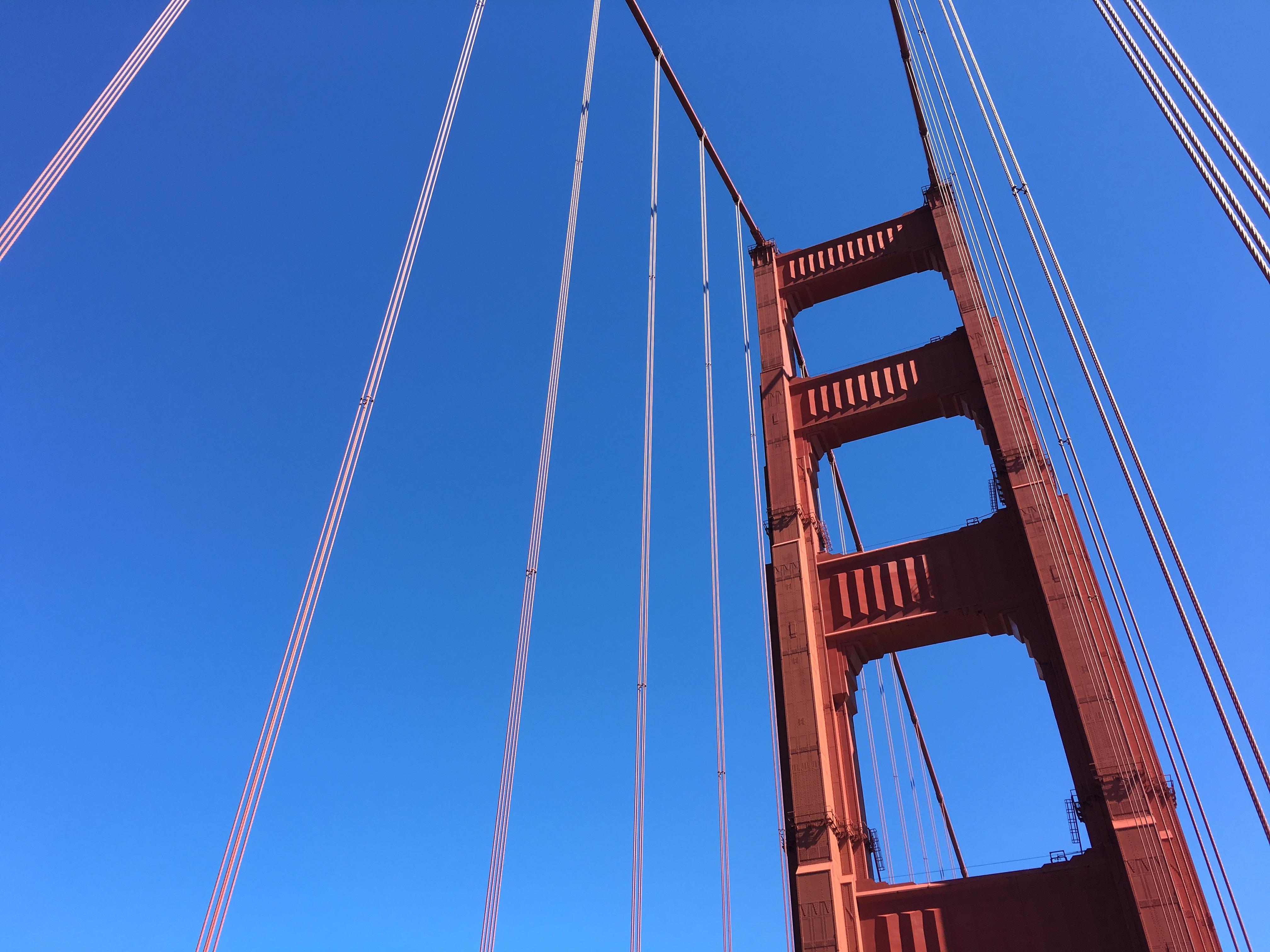 Die Golden Gate Bridge wird auch dieses Jahr wieder mein Ziel werden.