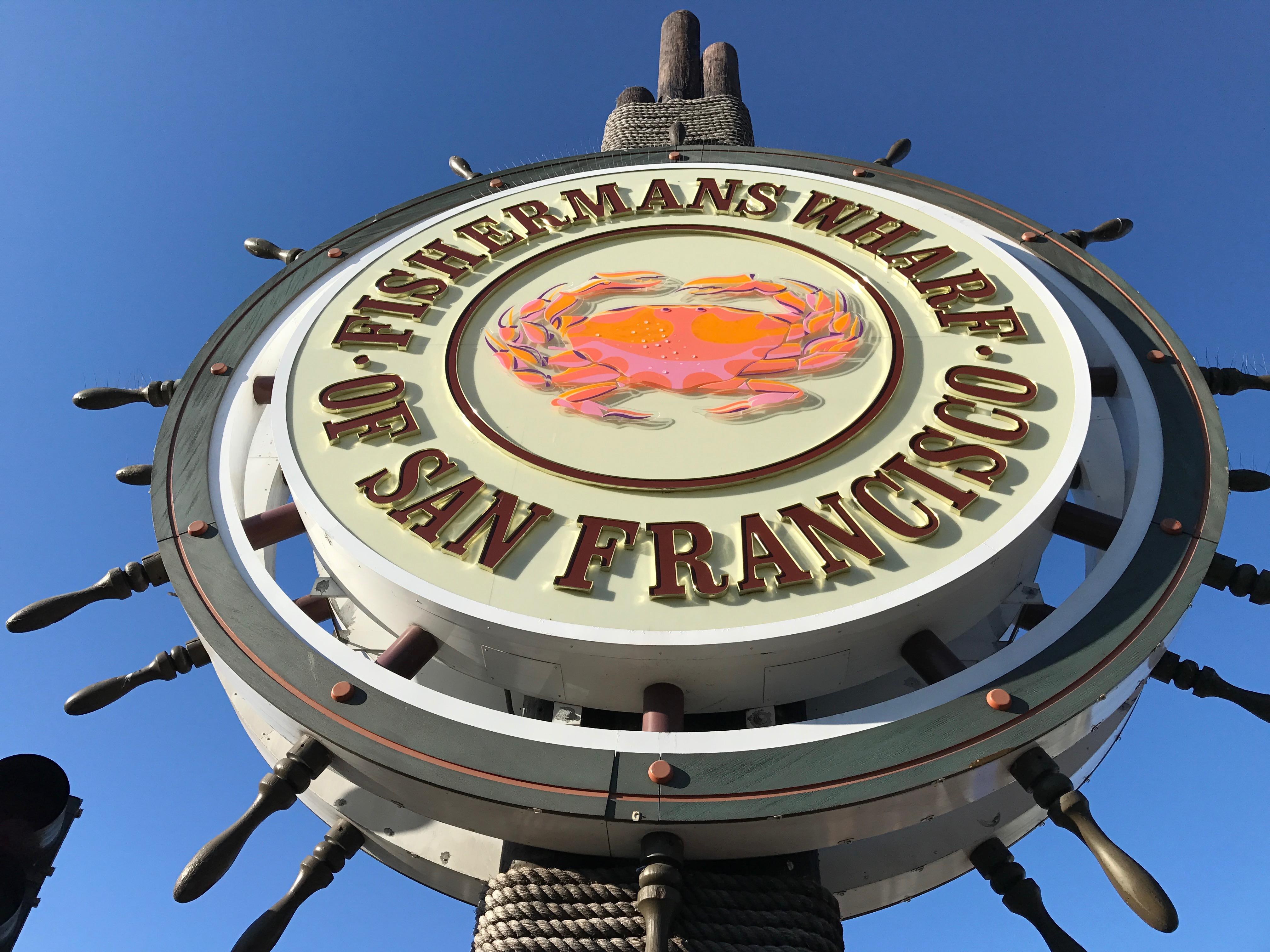 Das Symbol des touristischen Wahnsinns. Fisherman's Wharf.